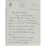 Mountbatten of Burma authentic genuine signed letter 2