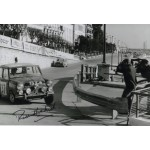 Paddy Hopkirk Monte Carlo Rally Mini genuine authentic autograph signed