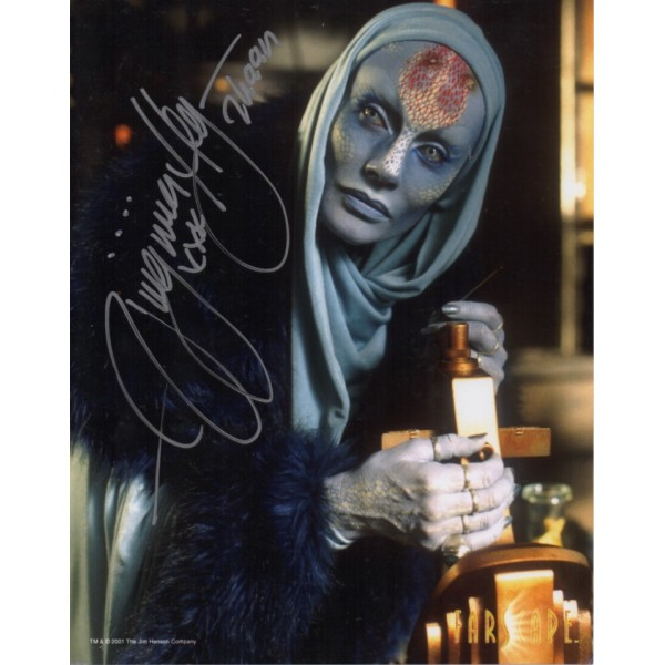 Virginia Haye Farscape genuine signed autograph photo 3