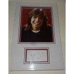 David Cassidy genuine authentic autograph signature photo display