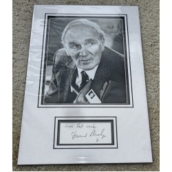 Desmond Llewelyn James Bond genuine authentic autograph signature photo display