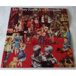 """Peter Blake Feed the World authentic genuine signature signed 12"""" vinyl record sleeve"""