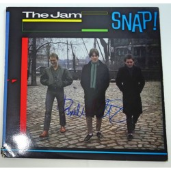 Paul Weller The Jam signed authentic genuine signature vinyl record UACC AFTAL