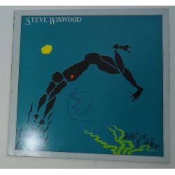 Stevie Winwood signed authentic genuine signature vinyl record UACC AFTAL