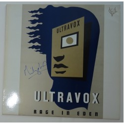 Ultravox Midge Ure signed authentic genuine signature album UACC AFTAL