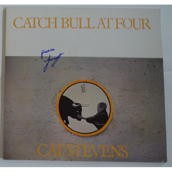 Cat Stevens Yusuf Islam signed authentic genuine signature album UACC AFTAL