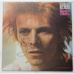 David Bowie Space Oddity signed authentic genuine signature vinyl record UACC AFTAL