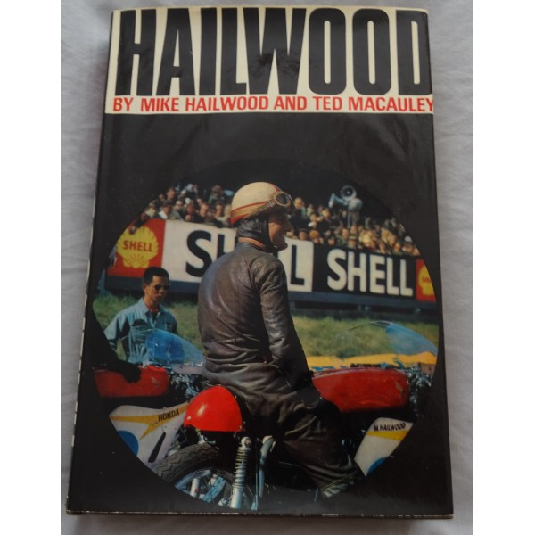 Mike Hailwood TT signed authentic genuine signature book UACC AFTAL