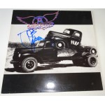Joe Perry Aerosmith signed authentic genuine signature vinyl album UACC AFTAL