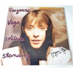 Suzanne Vega signed authentic genuine signature vinyl album UACC AFTAL