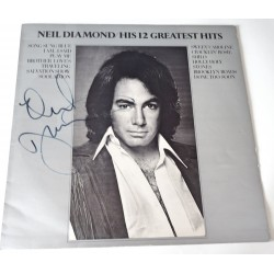 Neil Diamond signed authentic genuine signature vinyl album UACC AFTAL