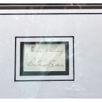Anthony Eden PM genuine authentic signed autograph photo display COA RACC UACC