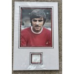 George Best Man United genuine authentic signed autograph photo display COA UACC RACC