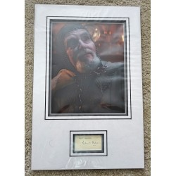 Robert Eddison Grail Knight  genuine authentic signed autograph photo display COA UACC RACC