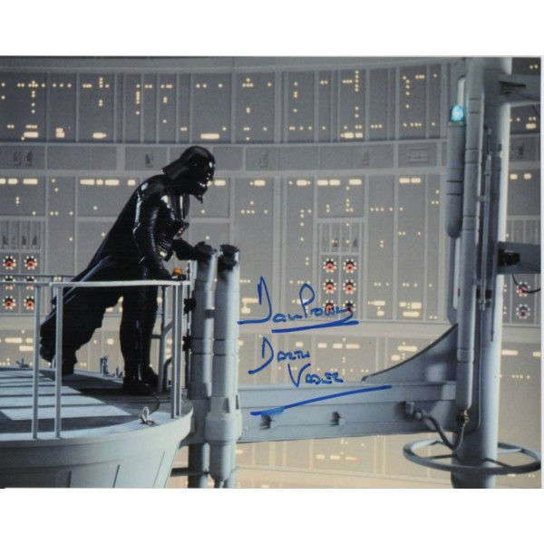 Dave Prowse Darth Vader Star Wars signed genuine signature photo 14