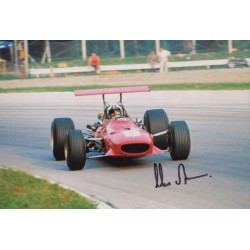 Chris Amon Ferrari F1 genuine authentic signed photo UACC AFTAL