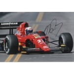 Alain Prost F1 Ferrari world champion signed genuine signature photo COA UACC