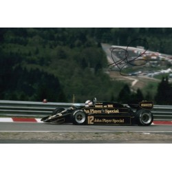Nigel Mansell F1 Lotus world champion signed genuine signature photo COA AFTAL