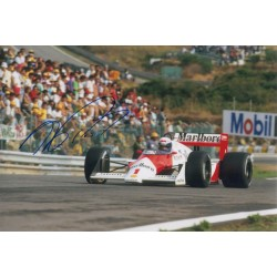 Alain Prost F1 McLaren authentic signed genuine signature photo 4 COA AFTAL UACC