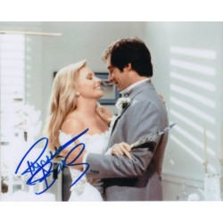 Priscilla  Barnes James Bond signed authentic genuine signature photo UACC AFTAL