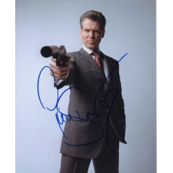Pierce Brosnan James Bond signed authentic genuine signature photo UACC AFTAL