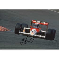 Alain Prost F1 McLaren authentic signed genuine signature photo 3 COA AFTAL UACC