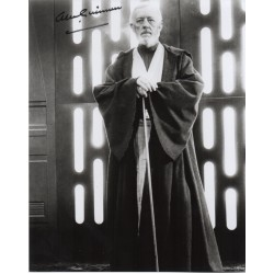 Alec Guinness Star Wars authentic signed genuine signature photo 3 COA AFTAL UACC