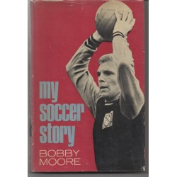 Bobby Moore WC 1966 football signed authentic genuine signature book
