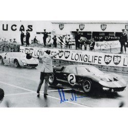 Chris Amon Ford GT40 genuine authentic signed photo UACC AFTAL
