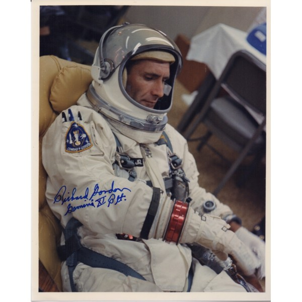 Dick Gordon Gemini Apollo 12 genuine signed autograph signed photo 3