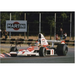 Emerson Fittipaldi F1 Mclaren world champion signed genuine signature photo