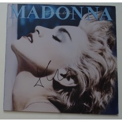 Madonna signed authentic genuine signature vinyl record UACC AFTAL