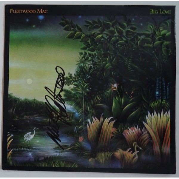 Mick Fleetwood Mac signed authentic genuine signature album UACC AFTAL