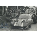 Sir John Whitmore Ford GT40 genuine authentic signed photo UACC AFTAL