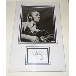 Steven Stills genuine authentic autograph signature photo display