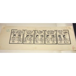 The Perishers original artwork cartoon authentic comic strip