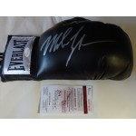 Mike Tyson boxing glove signed authentic genuine signature UACC AFTAL