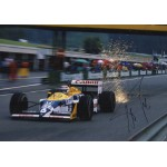 Nelson Piquet F1 Williams signed genuine signature authentic photo 14