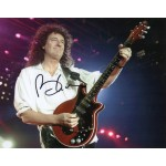 Brian May Queen authentic signed genuine signature photo 4 COA AFTAL UACC
