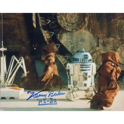Kenny Baker R2D2 Star Wars genuine authentic signed photo RACC UACC