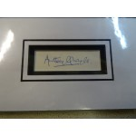 Anthony Quale signed genuine signature autograph display UACC