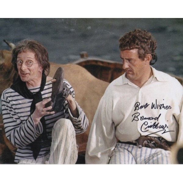 Carry On Bernard Cribbins authentic genuine signed colour photo 3