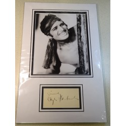 Douglas Fairbanks signed genuine signature autograph display RACC