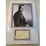 Fred MacMurray signed genuine signature autograph display RACC
