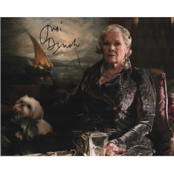 Judi Dench authentic genuine signed colour photo 2
