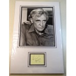 Richard Harris Harry Potter signed genuine signature autograph display RACC