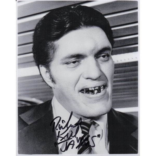 Richard Kiel 'Jaws' James Bond authentic signed autograph photo 5
