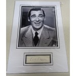 Walter Pigeon signed genuine signature autograph display RACC