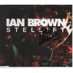 Ian Brown authentic signed genuine signature CD COA AFTAL UACC