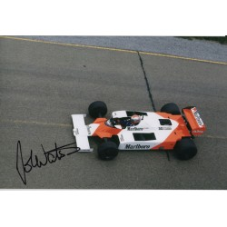 John Watson F1 McLaren genuine authentic signed photo COA RACC
